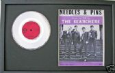 "THE SEARCHERS - 7""Platinum Disc&songsheet- NEEDLES AND PINS"